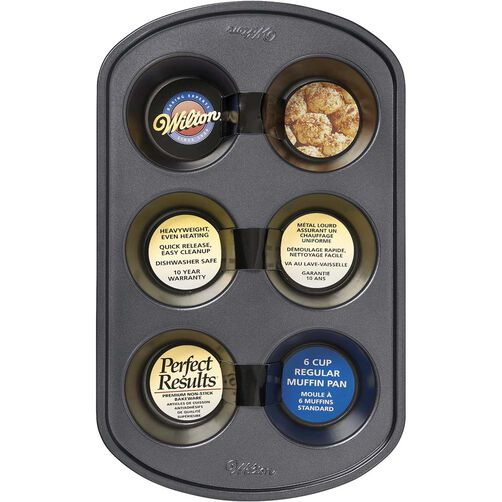Perfect Results 6 Cup Muffin Pan