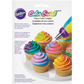 Color Swirl 3-Color Coupler
