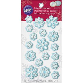 Wilton Snowflake Candy Decorations