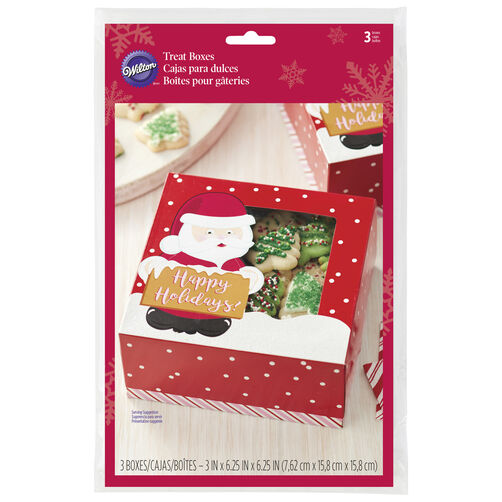 Santa Claus Treat Boxes