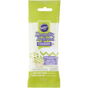 Decorator Preferred Light Green Fondant Pack 4.4 oz.