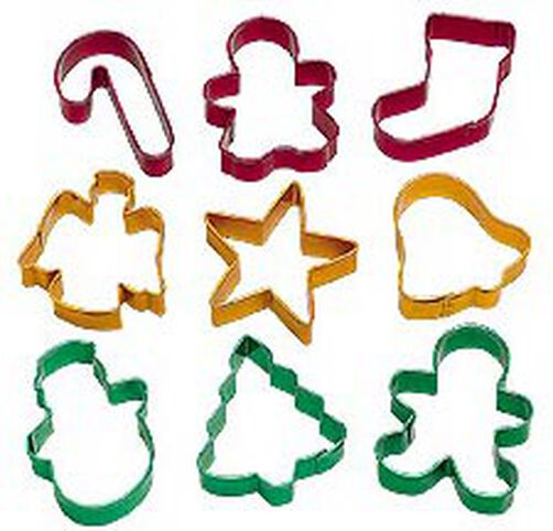 9-pc. Holiday Metal Cutter Set