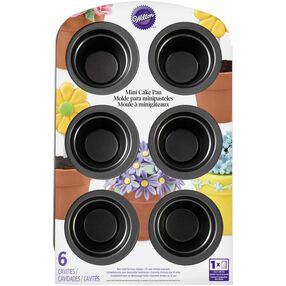 Flower Pot Mini Cake Pan