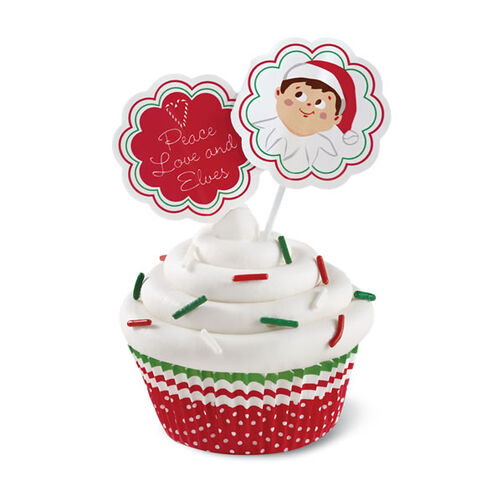 The Elf on the Shelf Cupcake Decorating Set