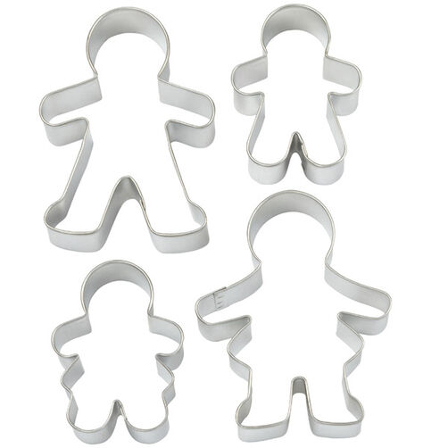 Gingerbread Family Cutter Set