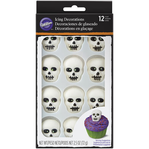 Skeleton Icing Decorations