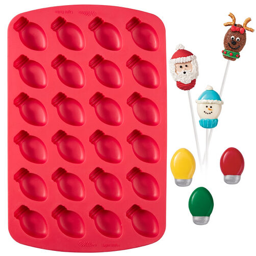 Light Bulb Silicone Baking Mold