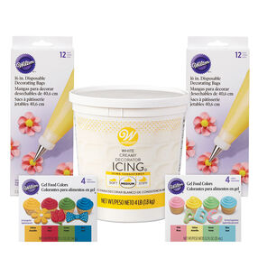 Colorful Icing Decorating Kit