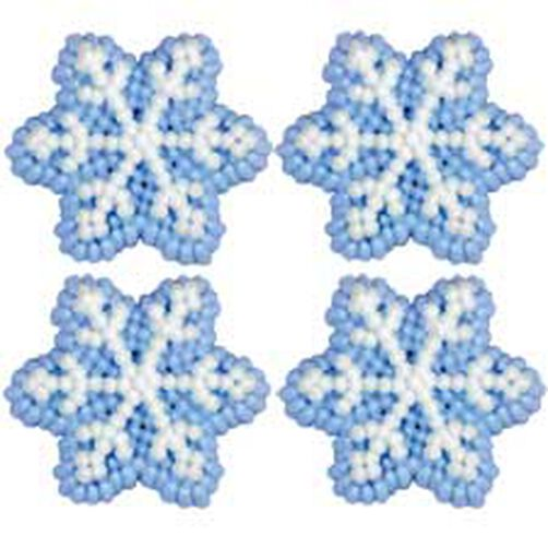 Snowflake Icing Decorations