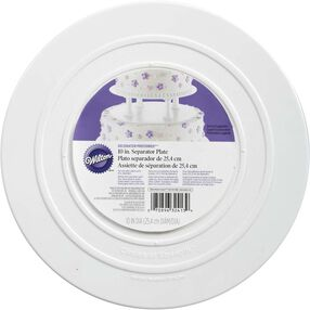 "Decorator Preferred 10"" Smooth Edge Plate"