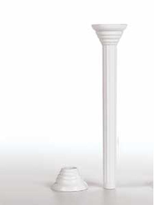 7 in. Baker's Best Disposable Pillars with Rings