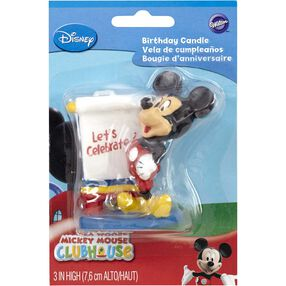 Disney Mickey Mouse Clubhouse Candle