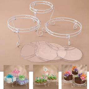 15 pc. Cake and Treat Display Set