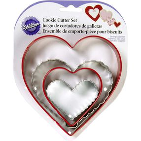 Nesting Heart Cookie Cutters