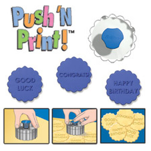Push 'N Print Cutter Set