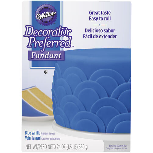 Decorator Preferred Blue Fondant