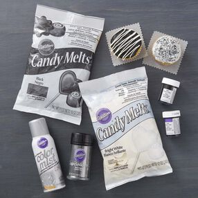 Wilton Black and Silver Team Color Kit