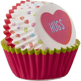 Wilton Valentine's Day Candy Hearts Mini Baking Cups