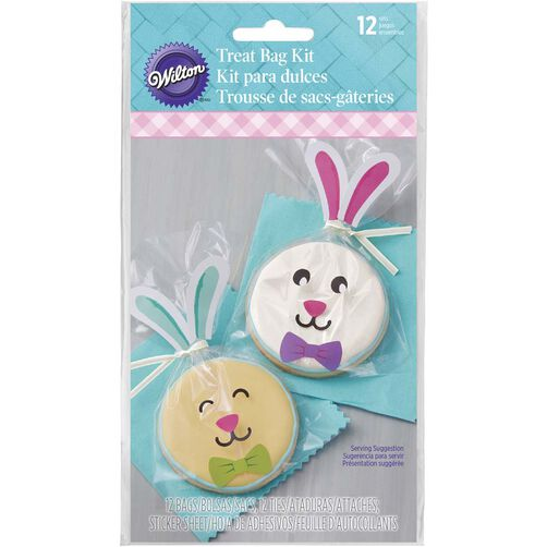 Easter Bunny Clear Treat Bags