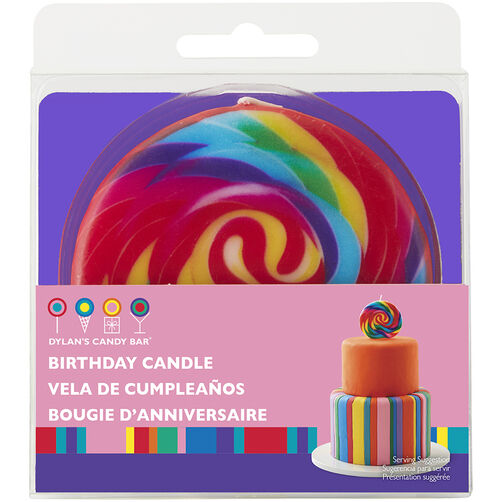 Dylan's Candy Bar Large Lollipop Candle