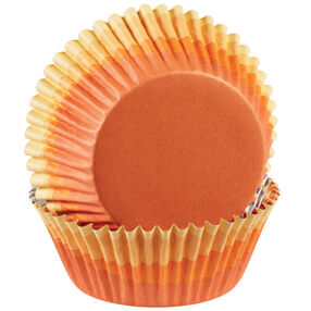 ColorCup Orange Ombre Cupcake Liners