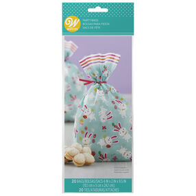 Easter Bunnies and Baby Chicks Treat Bags