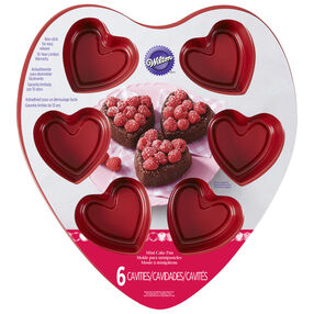 Heart Shaped Mini Treat Pan