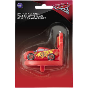 Cars 3 Candle