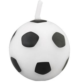 Soccer Ball Candle