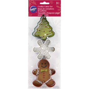 Wilton Christmas Cookie Cutter Set