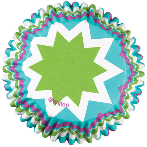 ColorCup Chevron Cool Cupcake Liners