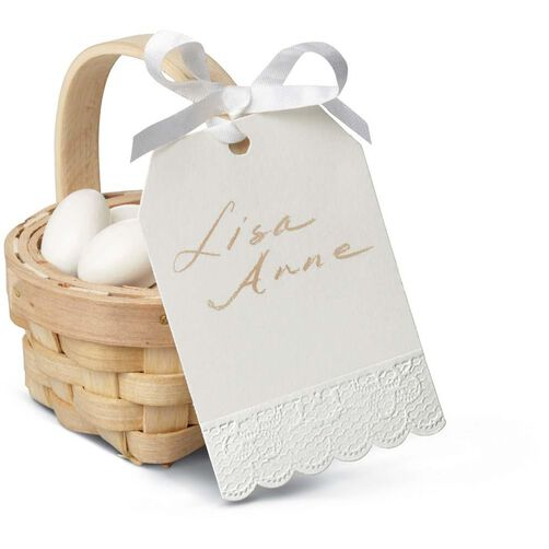 Ivory Lace Gift Tags