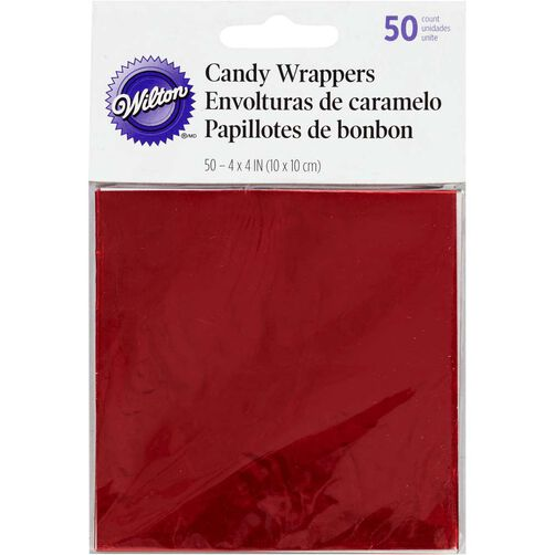 Red Foil Wrappers