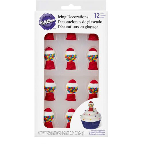 Wilton Gumball Machine Candy Decorations