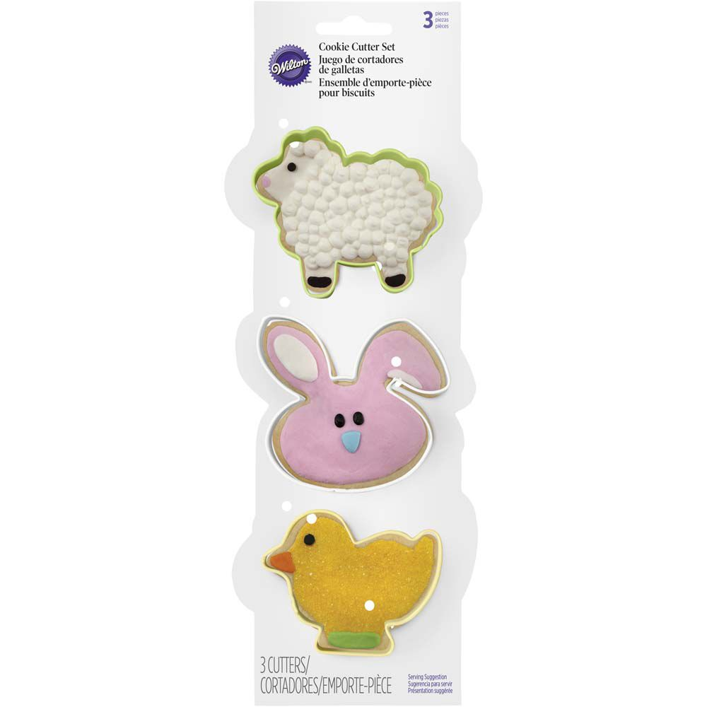 Easter Cookie Cutter Set Wilton