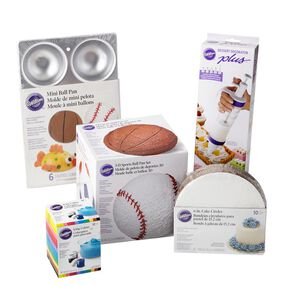 So You Want to Bake a Sports Ball Cake Set