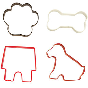 4 Pc. Pet Cookie Cutter Set