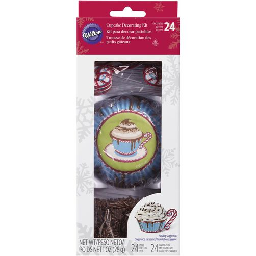 Hot Cocoa Cupcake Decorating Kit