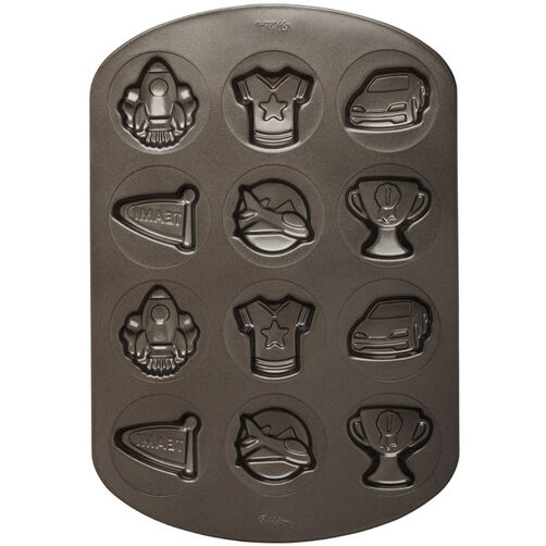 Boy 12 Cavity Non-stick Cookie Pan
