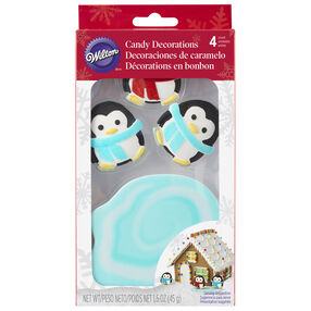 Penguins and Pond Icing Decorations