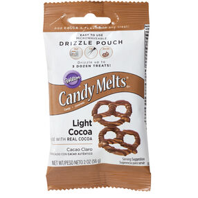 Wilton Light Cocoa Candy Drizzles Pouch