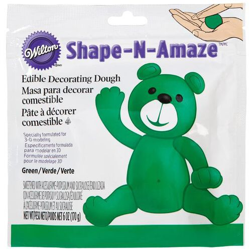 Green Edible Decorating Dough