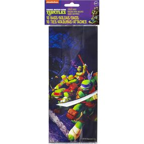 Teenage Mutant Ninja Turtles Treat Bags