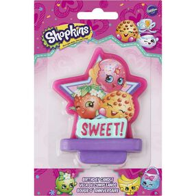 Shopkins Birthday Candle