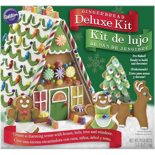Deluxe A Frame Gingerbread House Kit