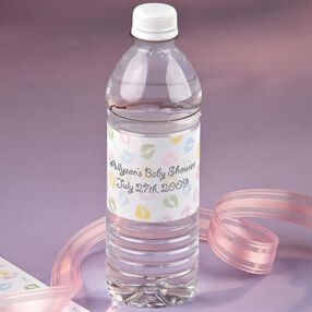 Personalized Bottled Water Wrappers