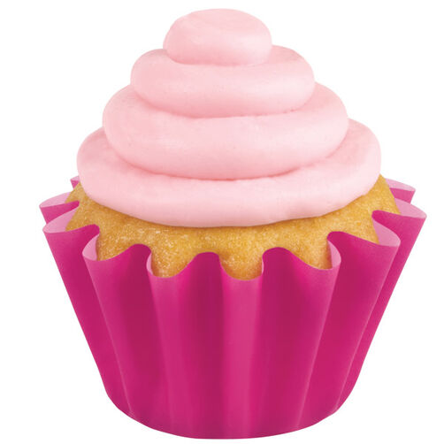Pink Wave Cupcake Liners