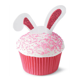 Bunny Ears Cupcake Toppers, 24-Count