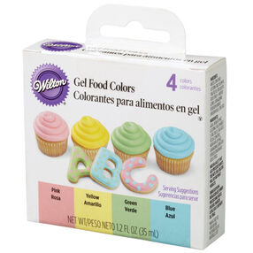 Gel Food Color Set