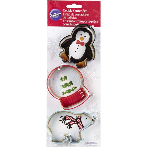 Wilton Christmas Polar Cookie Cutters